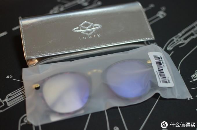 我的第一个众测--INMIX音米 防蓝光眼镜  用心真人兽