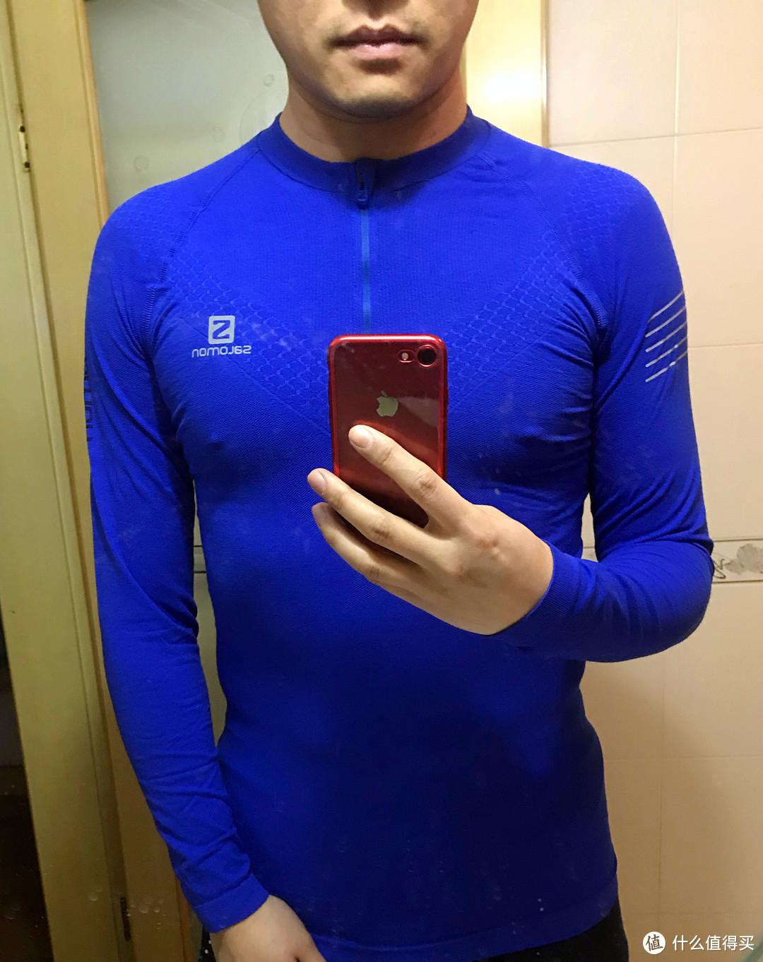物有所值—SALOMON 萨洛蒙 EXO MOTION HZ LS TEE M 男士长袖T恤 晒单