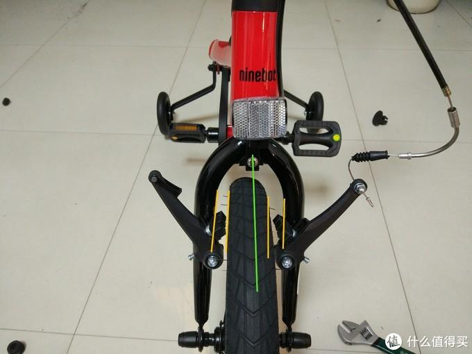Ninebot 纳思博 Kids Bike 儿童自行车,开箱以及安装