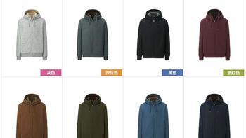 优衣库 401449 男士夹克外观展示(颜色|袖口|口袋|拉链|帽子)