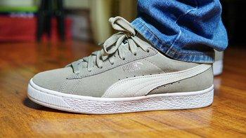 彪马 SUEDE CLASSIC 男士运动鞋使用感受(舒适性|尺码|价格)