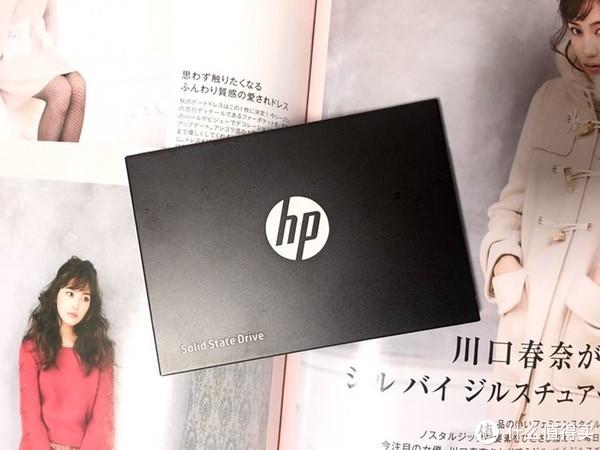 给大家看一个极速555的大U盘:HP 惠普S700 120G 固态硬盘 简测