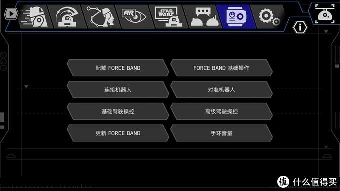 Sphero 星球大战 智能遥控机器人 R2-D2 及 原力手环 体验评测