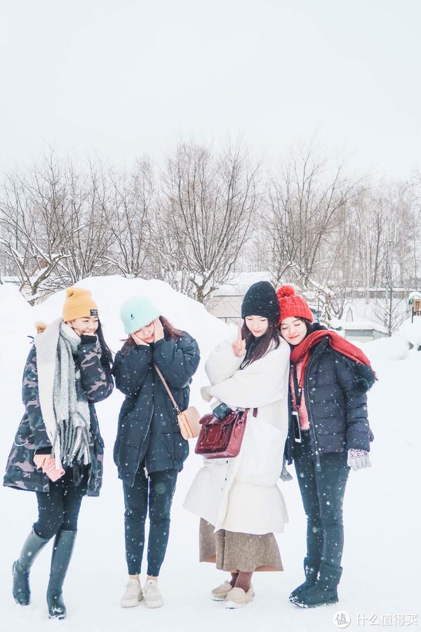 北海道的小仙女们