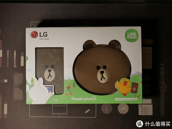 意外的惊喜:LG PD239SF 趣拍得 LINE FRIENDS特别版  便携相片打印机  使用简评