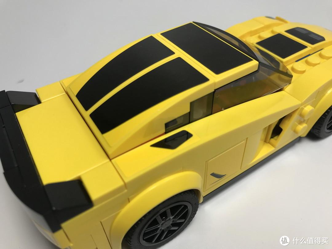 LEGO 乐高 拼拼乐 75870 超级赛车系列 Chevrolet Corvette Z06