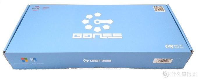 办公家用两相宜——GANSS GS87-D 蓝牙双模版机械键盘初体验