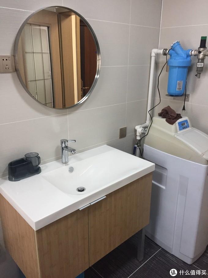 浴室柜科勒,镜子松霖,龙头汉斯格雅注意龙头上下水皆为欧标