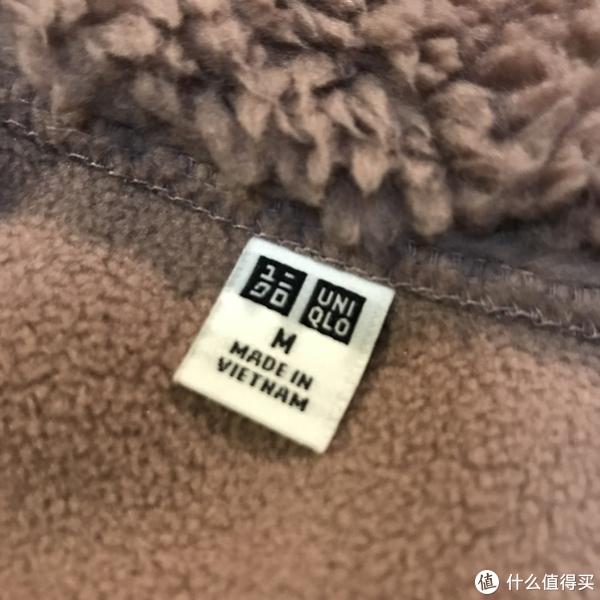服饰快消品 篇五十七:继续99块:UNIQLO 优衣库 女款摇粒绒大衣