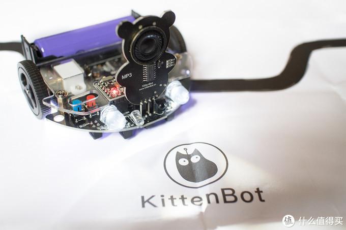 小巧大玩具——KittenBot迷你巡线机器人