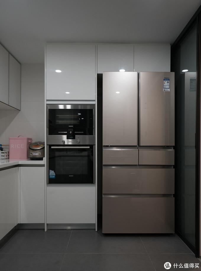 海尔多门冰箱