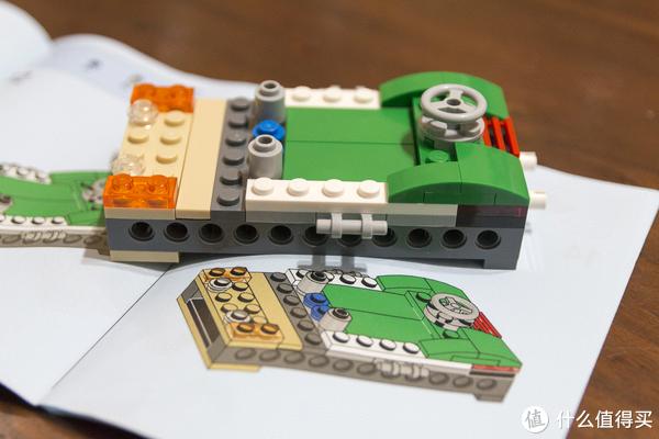 少爷的乐高系列 篇五:LEGO 乐高 31056 绿色敞篷车 开箱