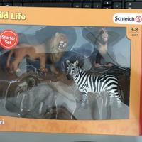 思乐 野生动物模型外观展示(猩猩|兽王)