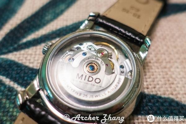 #女神节礼物# 入门天文台腕表值否:MIDO 美度 贝伦赛丽III系列 女士机械腕表 简评