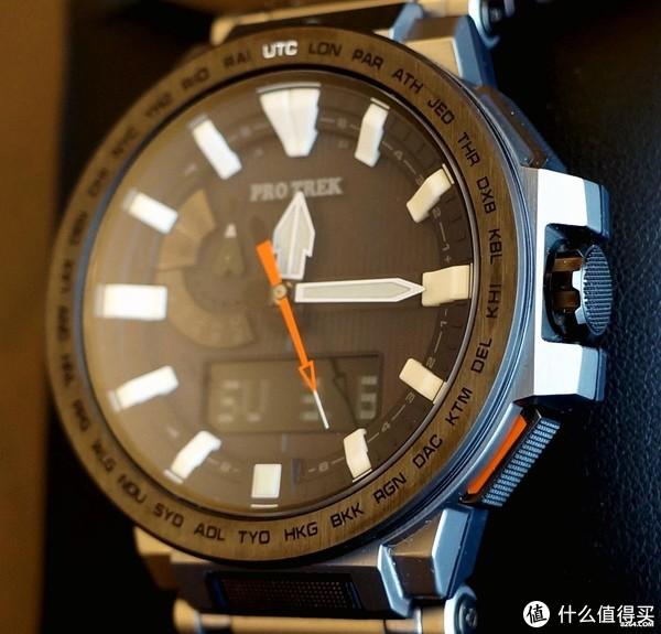Casio 卡西欧 第三代户外旗舰 PRX-8000t 男款太阳能电波手表 使用评测