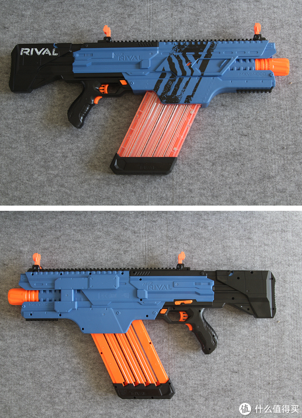 入新坑 — 孩之宝 NERF发射器: 篇三十三:#本站首晒#NERF 热火 竞争者系列 KHAOS 卡俄斯 4000球弹枪