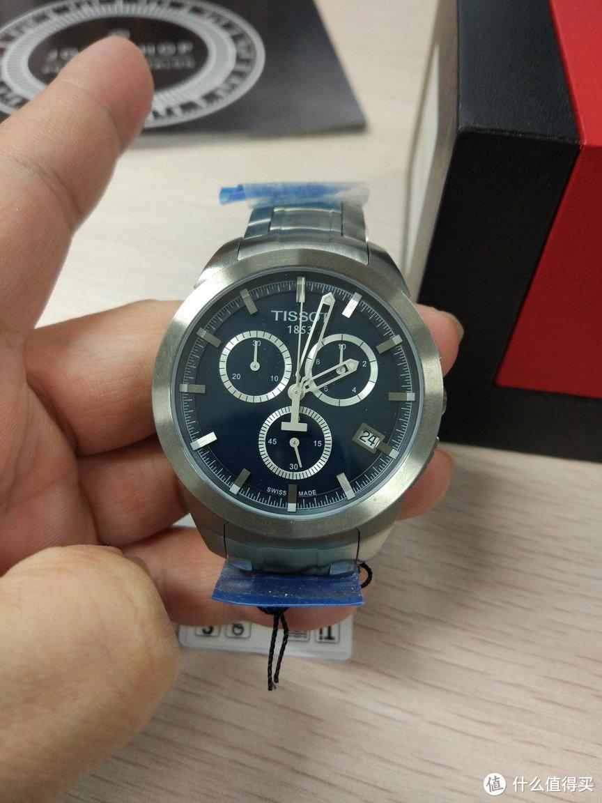 TISSOT 天梭 T-Sport系列 T069.417.44.041.00 男士钛合金时装腕表 开箱晒单
