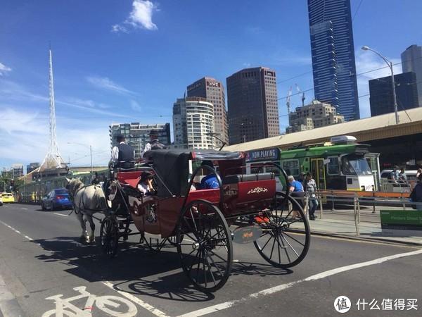 联邦广场附近还有马车,真的马