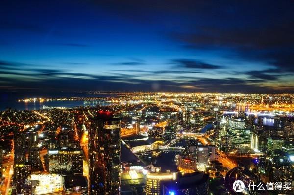 墨尔本夜景(理光GR2)