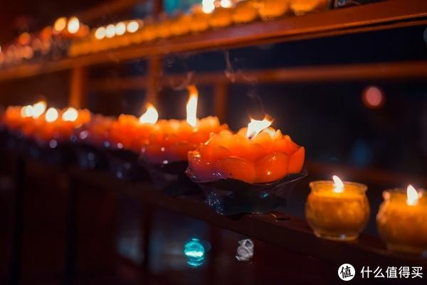 游记:年三十夜宝莲寺随拍