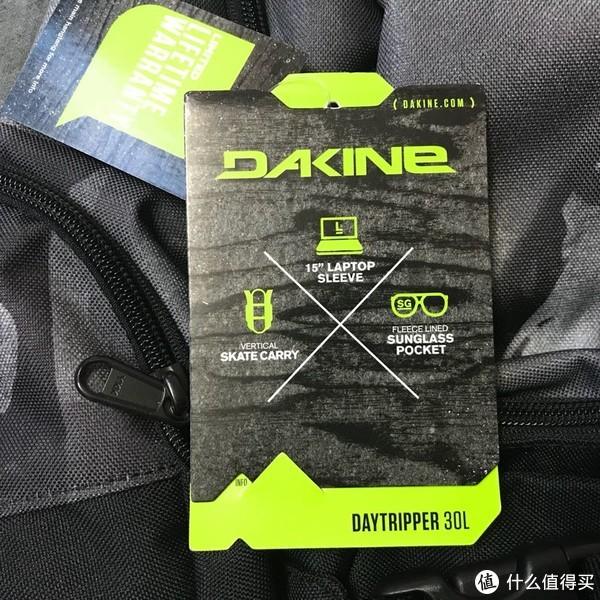 来自美国的小众品牌:DAKINE 滑板双肩包