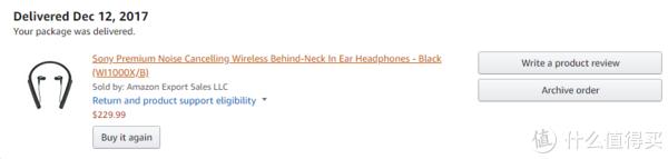 我买过的东西 篇一:#原创新人#新手第一次美亚的不归之路:SONY 索尼 WI-1000X 头戴式耳机 开箱
