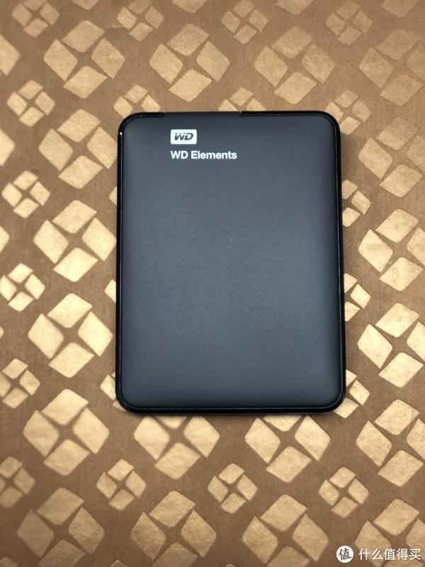 WD 西部数据 Elements 新元素系列 2.5英寸 USB3.0 1TB 移动硬盘 开箱简评