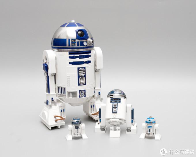△R2-D2智能遥控机器人与乐高版本R2-D2
