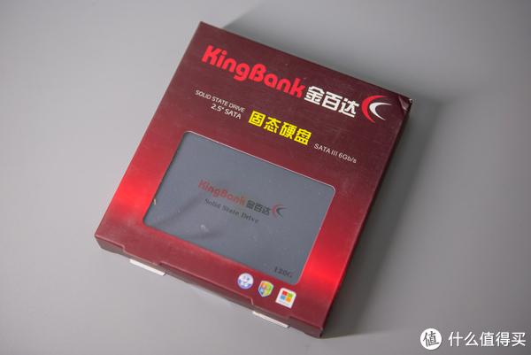 买了SSD不会安装?从零教你装系统,4K同步:KINGBANK 金百达 120G 固态硬盘 开箱