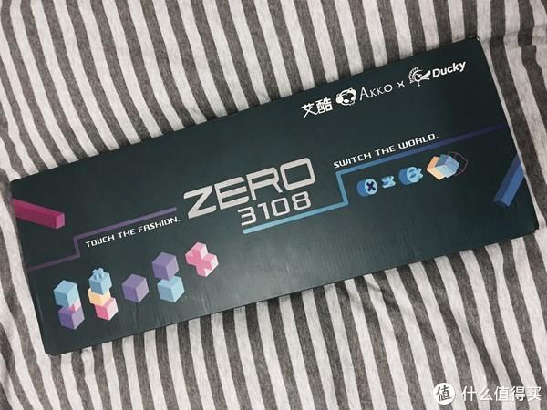 AKKO 艾酷 X Ducky 魔力鸭 Zero 3108 正刻 茶轴 机械键盘 开箱晒单