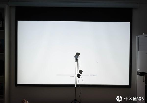 #玩子与数码# 篇十三:小客厅玩转大屏幕侧投是条近路:BenQ 明基 W1120 家用投影仪 开箱使用感受