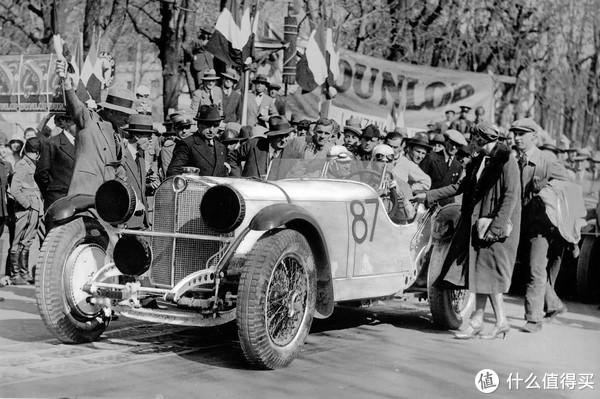霸气的王者 白色巨万象 澳门博彩有限公司 1/18 奔驰 SSKL Mille Miglia 1931冠军车模