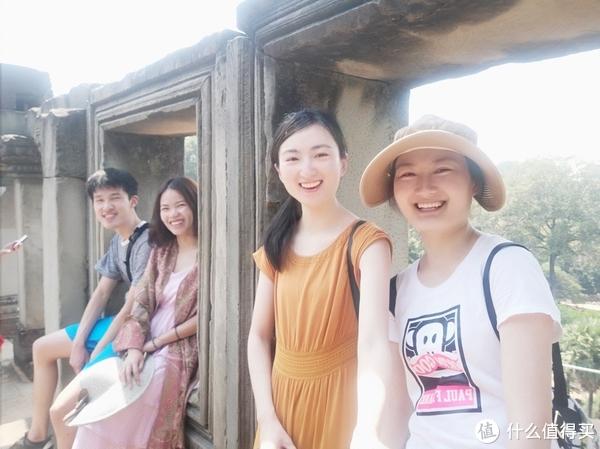 ▲从右到左分别是来之台州的姐妹俩,福州的小婉,我