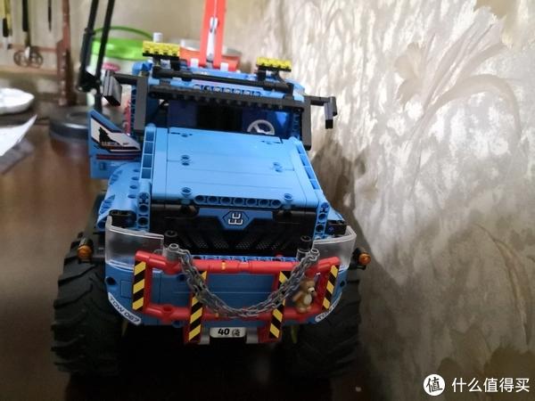乐高2017年科技旗舰:LEGO 乐高 2017科技系列 全时驱动牵引卡车 拼装及GIF遥控演示