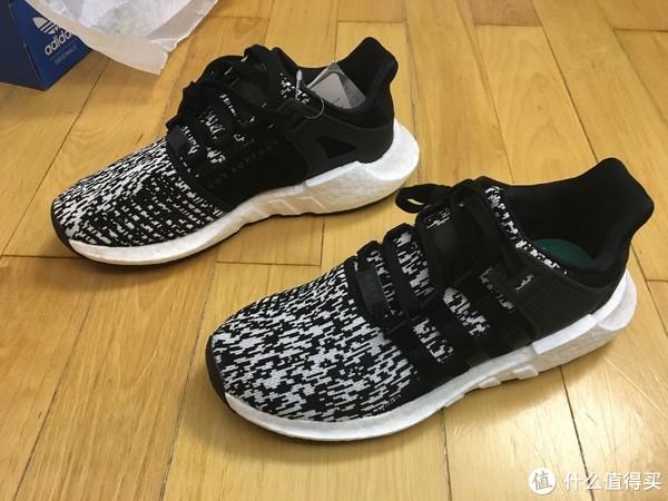 Adidas 阿迪达斯 EQT Support 93/17 跑鞋 开箱