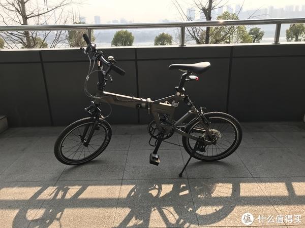 #本站首晒#特立独行—DAHON 大行 JP8 faa083 折叠自行车 入手体验