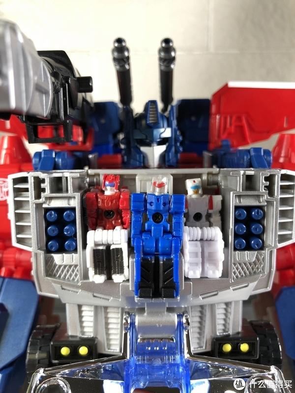 变形金刚玩具 篇147:#本站首晒#TAKARA TOMY LG-EX 超神仁莱套装 开箱