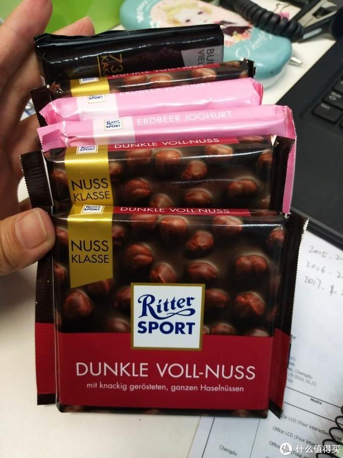 #2017剁手回忆录#贫穷没有限制我的巧克力