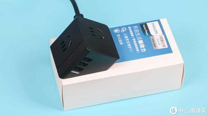 外形独特,使用安全:飞利浦 便携USB插座 使用感受