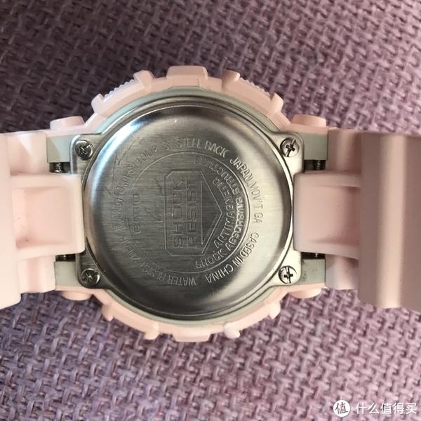 #女神节礼物#CASIO 卡西欧 G-Shock 时尚运动表 GMA-S110MP 开箱