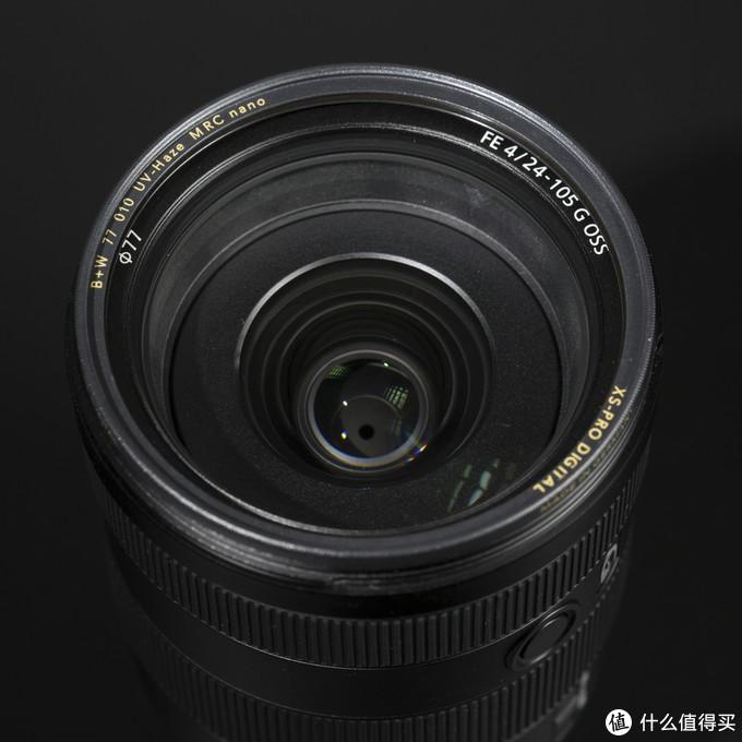 ↑B+W77mmXS-PRO超薄多层纳米镀膜UV镜