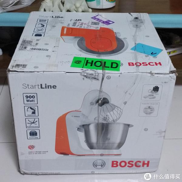 为了做馒头而入手的厨师机:BOSCH 博世 MUM54I00 厨师机