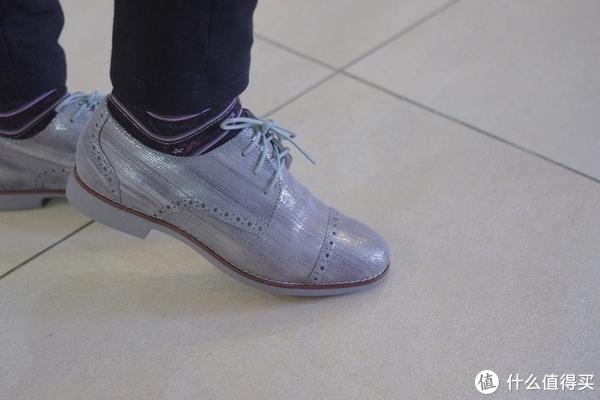 蜈蚣的一家——女鞋/童鞋 篇二十八:#女神节礼物#Cole Haan Gramercy 女士德比鞋 开箱