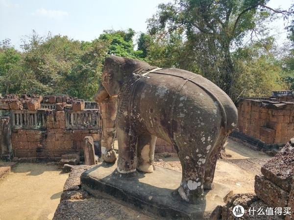 ▲大象石雕