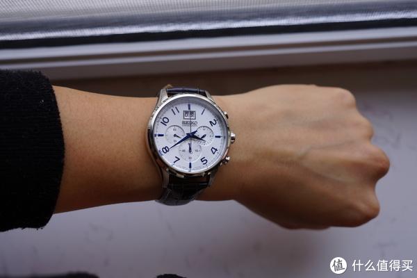 #原创新人#本站首晒#小蓝针的另一种演绎,小众但性价比不错:SEIKO 精工 SPC 155 腕表