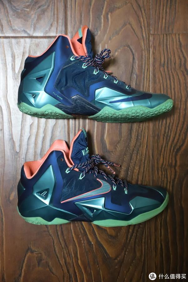 我的4双Nike 耐克 詹姆斯篮球鞋 晒单
