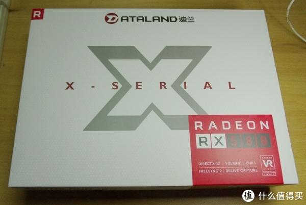 再入A门—DATALAND 迪兰 恒进RX580 显卡 开箱