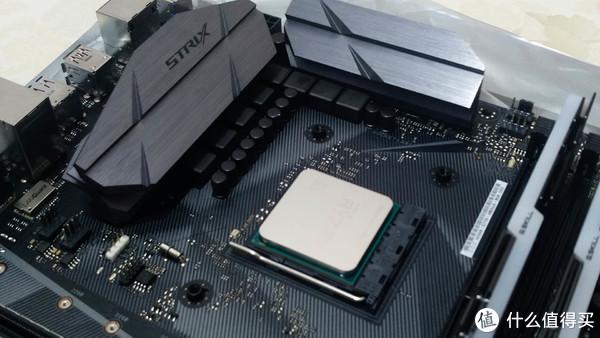 #原创新人#小麻雀五脏俱全:ASUS 华硕 ROG Strix B350-F Gamin 主板搭载锐龙 Ryzen 2400G 处理器评测