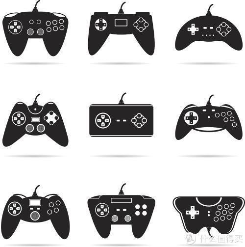 """手柄的Logo代表了""""游戏"""""""