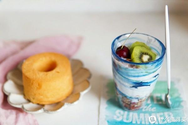 西柚戚风+酸奶麦片